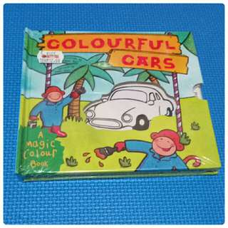 Colourful Cars Book