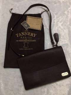 THE TANNERY MANILA GENUINE LEATHER BAG