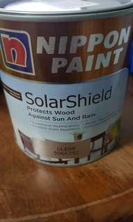 Nippon Paint SolarShield Clear Varnish