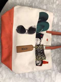 Anya Hindmarch beach bag