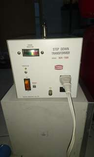 Step up step down transformer