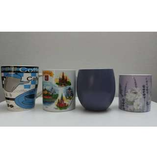 Brand New Porcelain Mugs