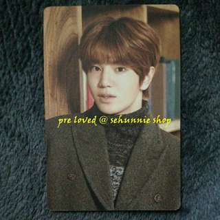 [WTS/WTT] INFINITE SUNGJONG REALITY OFFICIAL CALENDAR CARD