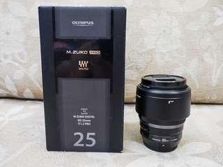 (Repriced RUSH) Olympus 25mm f1.2 PRO M.Zuiko Lens
