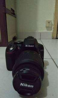Nikon D5300 with kit and zoom lens