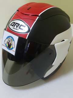 0307** ARC AR1 TIARA MATT RED Helmet For Sale 😁😁Thanks To All My Buyer Support 🐇🐇 Yamaha, Honda, Suzuki