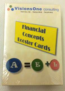 Financial Concepts Booster Cards