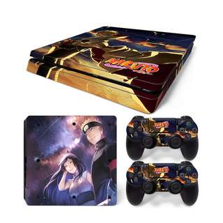 Naruto and Hinata Skin Sticker For PS4 SLIM