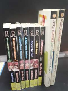 Manga and comic books