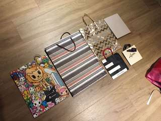 🚚 Assorted Gift bags Paper Bags