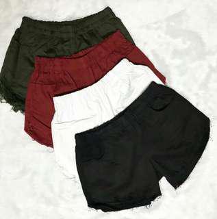 Denim Shorts (Black)