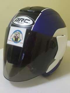 0307** ARC AR1 TIARA BLUE Helmet For Sale 😁😁Thanks To All My Buyer Support 🐇🐇 Yamaha, Honda, Suzuki
