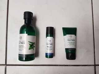 The Body Shop - Tea Tree (Night lotion)
