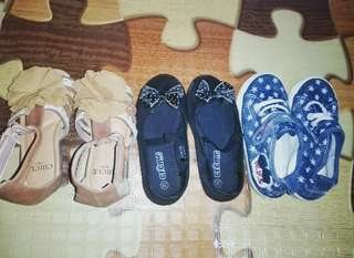 Shoes for baby girls. Size 26. All 3 for 500