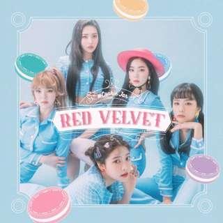 Red Velvet Cookie Jar