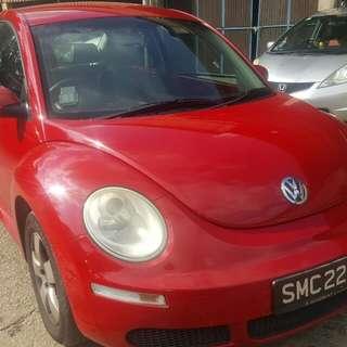 VW BEETLE 1.6(A) 2008