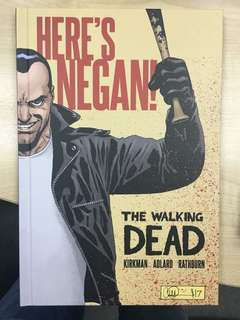 The Walking Dead Here's Negan Hardcover - Read Once