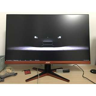 "Acer XG270HU 27"" 1440p 144Hz 1ms FreeSync QHD Monitor"