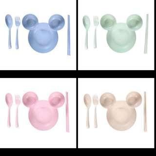 (Pre-order) Mickey bowl set