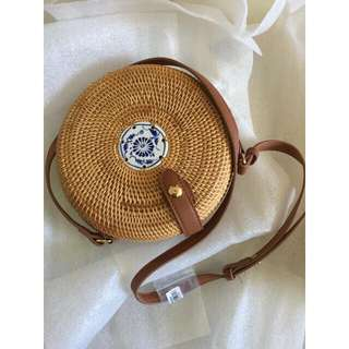 Rattan Sling Bag (All the way from overseas)