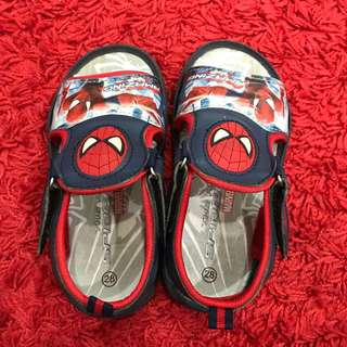 Spiderman sandals for kids