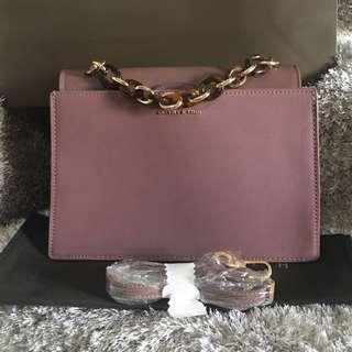 Charles & Keith Geometric Fashion Bag