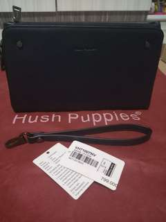 Tas clutch hush puppies navy
