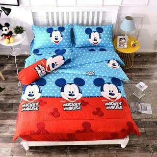 Cadar Mickey Mouse Queen