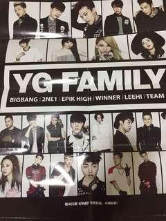YG FAMILY poster