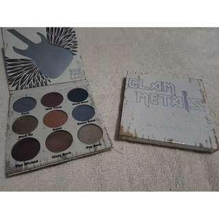 Crown glam metals eyeshadow palette 9 color