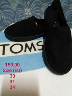 Repriced! SALE! SALE! Toms Kid Shoes Brandnew