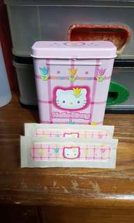 Hello kitty collection 2000 year plaster LIMITED EDITION
