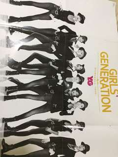Girl generation poster