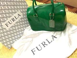 OPEN FOR LAYAWAY Authentic FURLA CANDY BAG Emerald