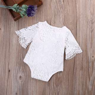 Baby girl cute lace romper #july50