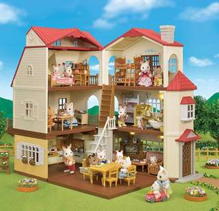 *New Release* BN Sylvanian Families Calico Critters Epoch Red Roof Country Home