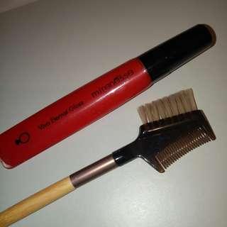 Mirenesse Lip Gloss + Ecotools Brush