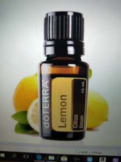 Lemon Doterra Essential Oil