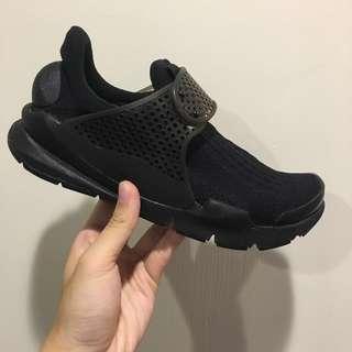 Nike sock dart 襪套 全黑 慢跑鞋 休閒 黑魂