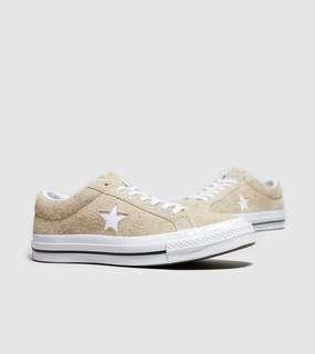 🚚 Converse one star 麂皮 米色 25cm