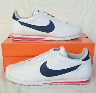 Nike Cortez White Navy Red