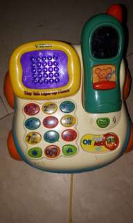 Vtech phone toy only no more batt