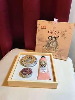 🚚 上海女人 護膚 護手 護唇 三件組 現量版