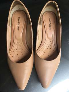 Hush Puppies 3inch heels in beige