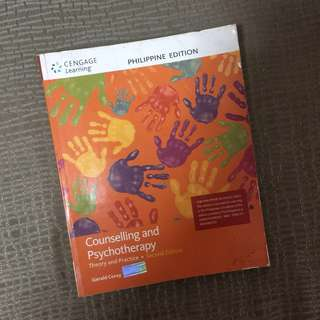 Counselling and Psychotherapy Book
