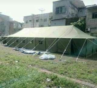 Tenda pleton atau pengungsi