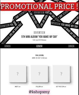 [ PROMO PRICE ] SEVENTEEN 5th Mini Album - ' You Make My Day '