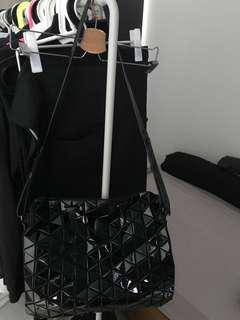 efa6bd61d6 Bao Bao Issey Miyake Tonneau Gloss Boston Bag