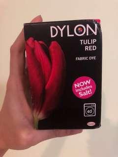 BNIB Dylon Fabric Dye in Tulip Red (350g)