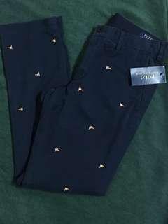 Polo Ralph Lauren Classic slim fit 滿版 合身 長褲 國旗 圖案